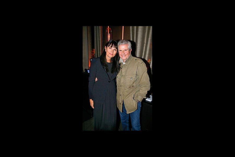 Avec Valérie Perrin, sa compagne depuis dix ans.