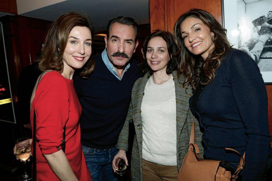 Elsa Zylberstein, Jean Dujardin, Nathalie Péchalat, Nadia Farès.