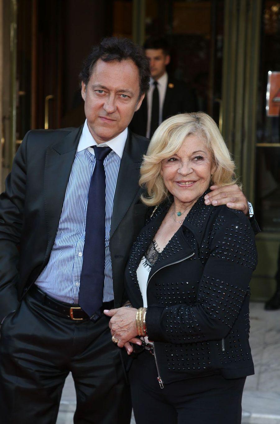 Nicoletta et son mari Jean-Christophe Molinier