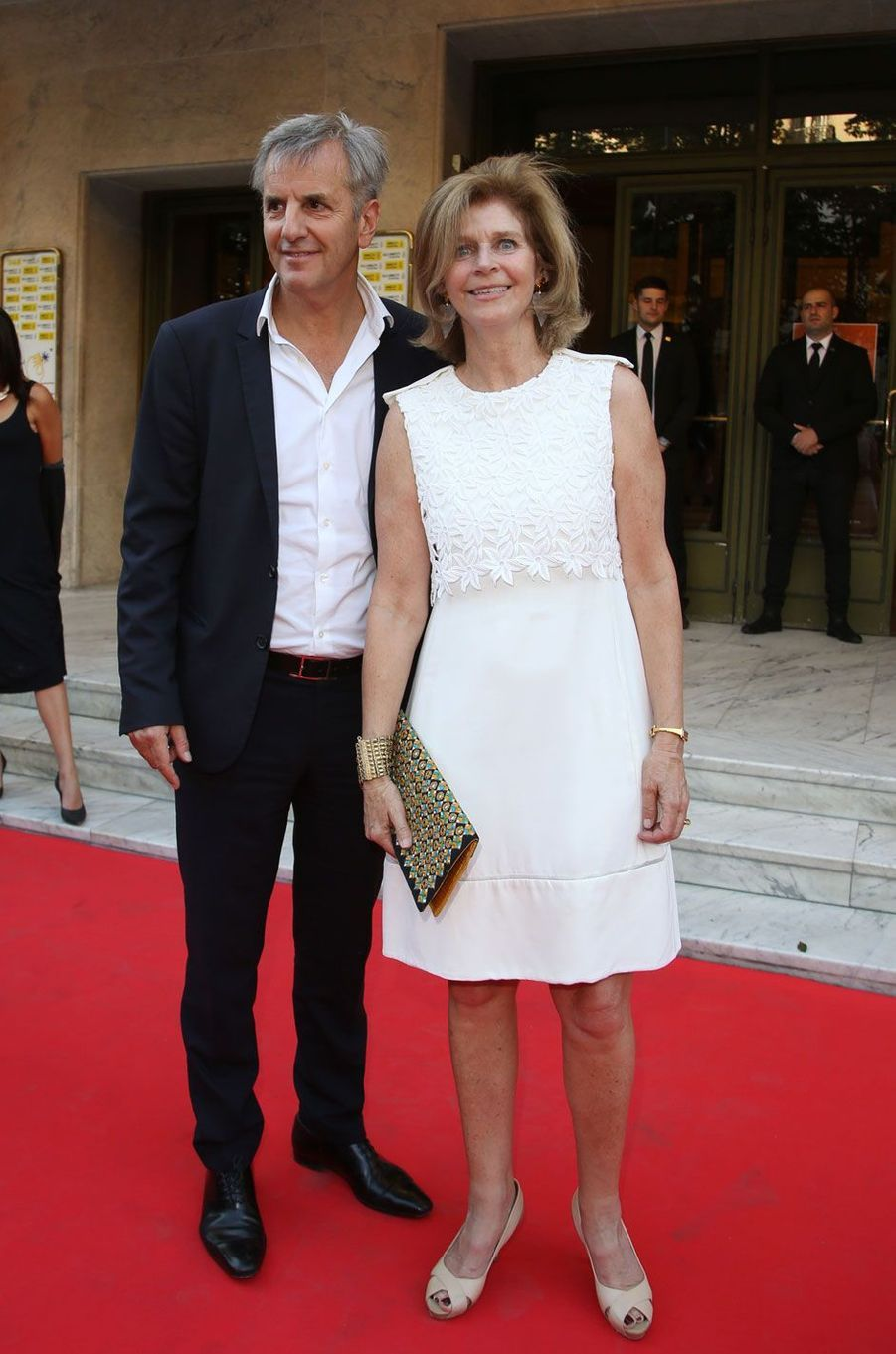 Bernard de la Villardière et sa femme
