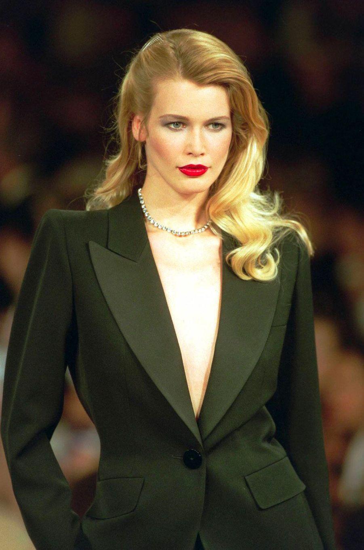 Claudia Schiffer dans les années 90