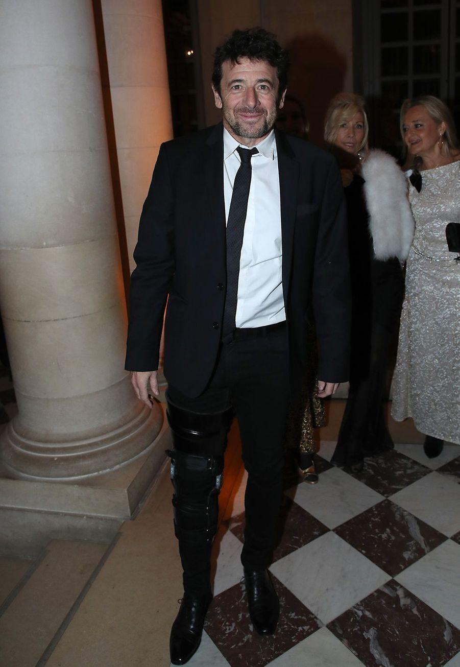 Patrick Bruelau galade la charte de Paris contre le cancer au château de Versailles le 3 février 2020.
