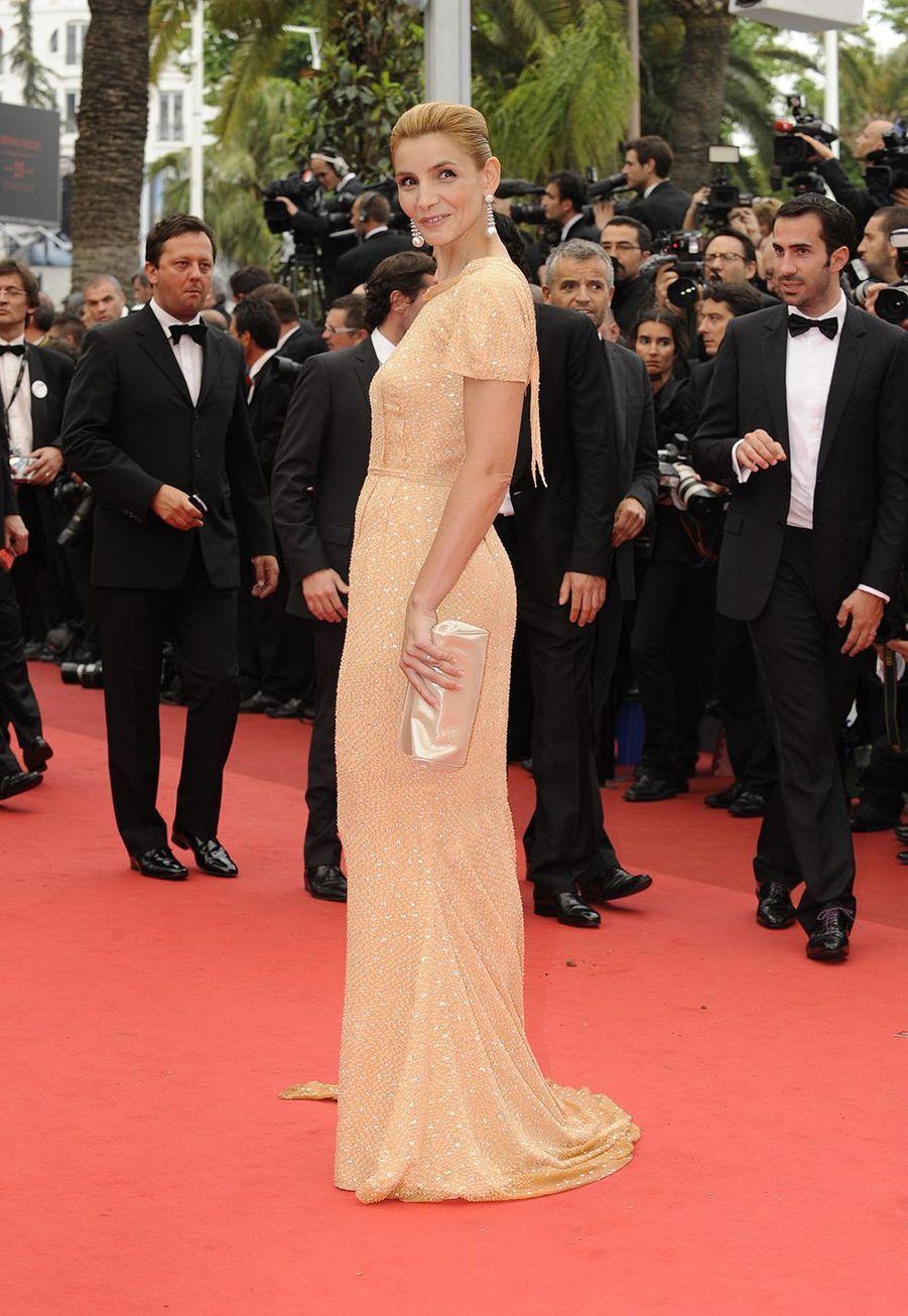 Clotilde Courau au Festival de Cannes le 14 mai 2011.