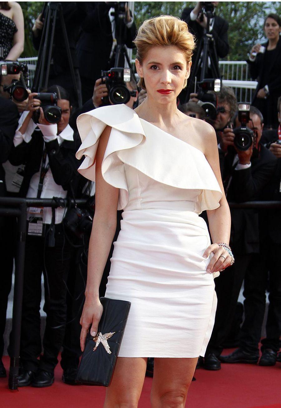 Clotilde Courau au Festival de Cannes le 19 mai 2010.