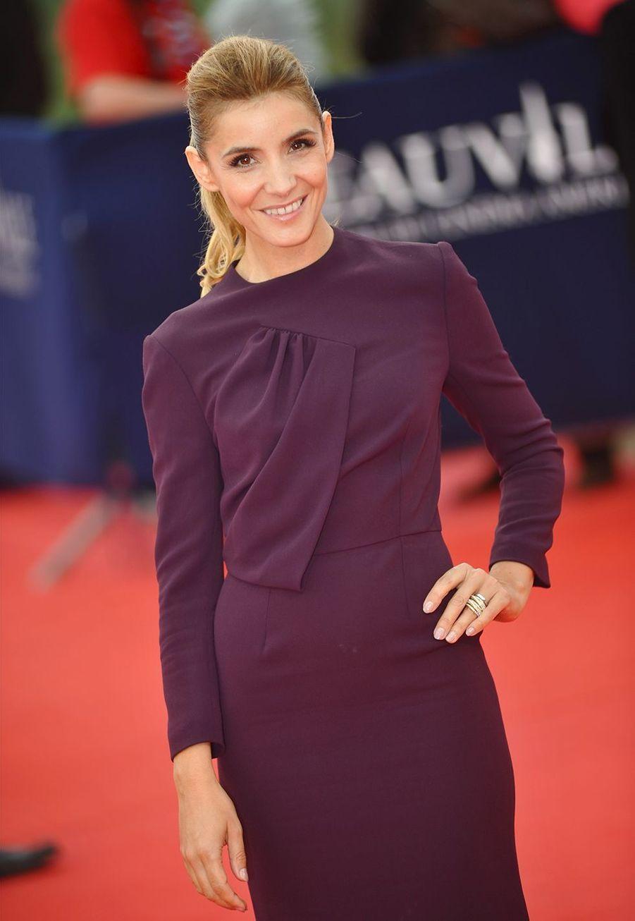 Clotilde Courau assiste à la 38ème cérémonie du Festival du film de Deauville le 1er septembre 2012.
