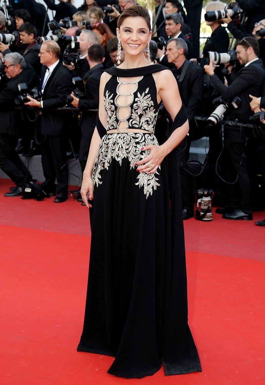 Clotilde Courau au 70ème Festival de Cannes, le 21 mai 2017.