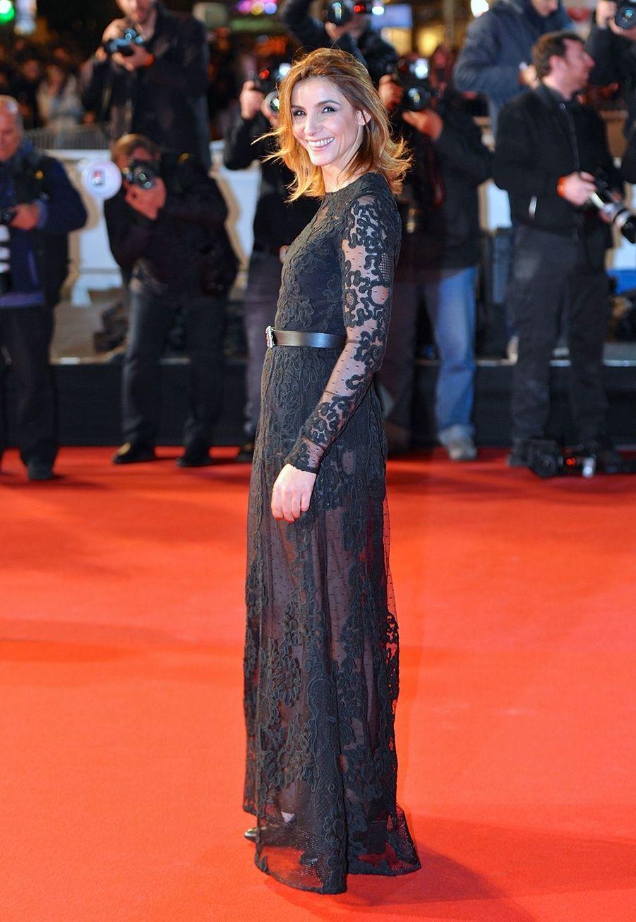 Clotilde Courau au NRJ Music Awards le 13 décembre 2014 à Cannes.