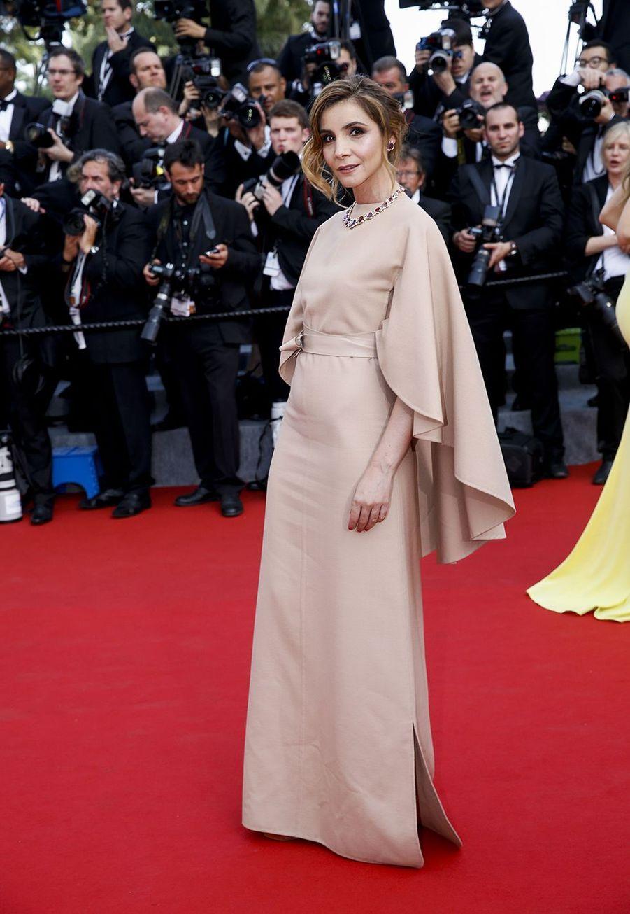 La princesse Clotilde de Savoie le 13 mai 2015 au 68ème Festival de Cannes.