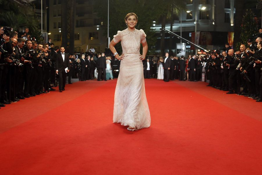 Clotilde Courau au Festival de Cannes le 21 mai 2013
