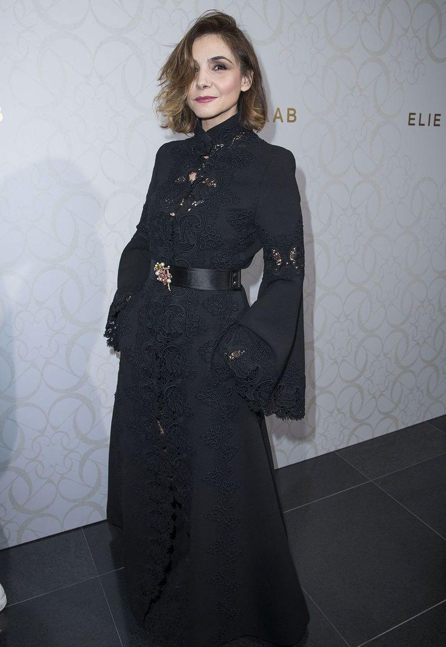 Clotilde Courau au défilé Elie Saab mercredi