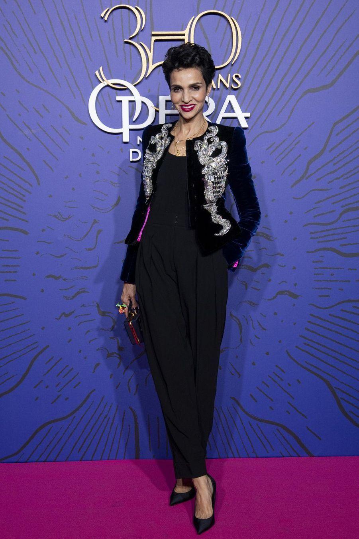 Farida Khelfaaugala du 350ème anniversaire de l'Opéra Garnier à Paris, France, le 8 mai 2019