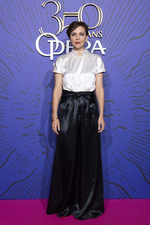 Maggie Gyllenhaalaugala du 350ème anniversaire de l'Opéra Garnier à Paris, France, le 8 mai 2019