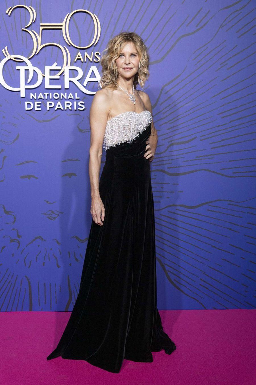 Meg Ryanaugala du 350ème anniversaire de l'Opéra Garnier à Paris, France, le 8 mai 2019