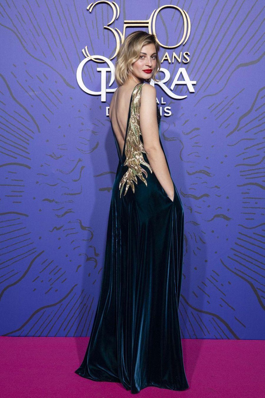 Sveva Alvitiaugala du 350ème anniversaire de l'Opéra Garnier à Paris, France, le 8 mai 2019