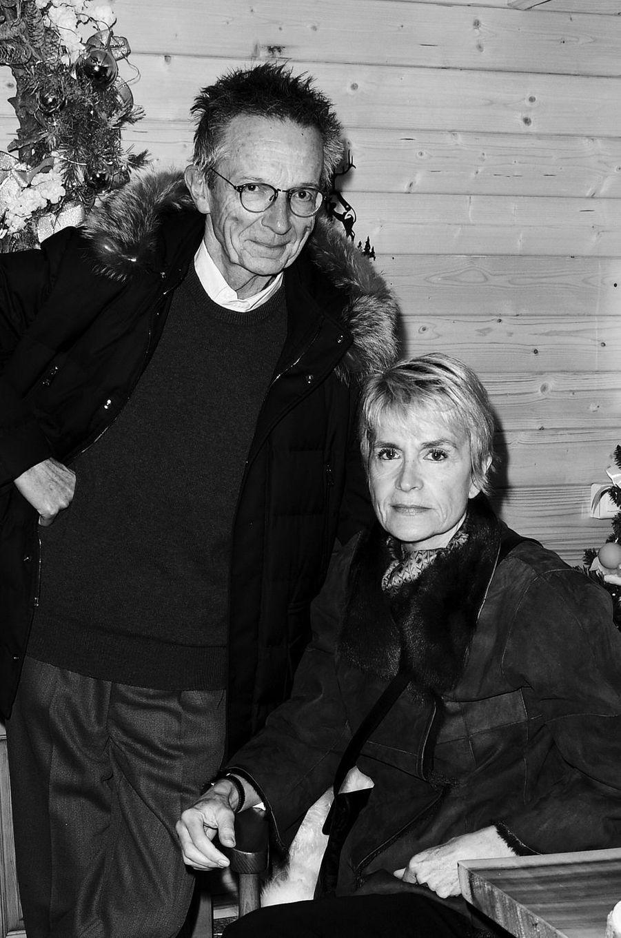Patrice Leconte et Agnès Béraud.