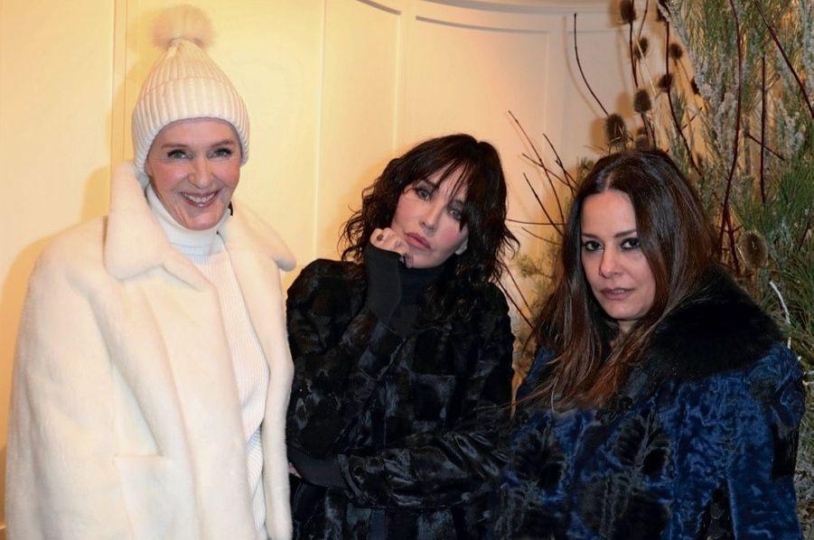 Christina Zeller, Isabelle Adjani, Hedieh Loubier.