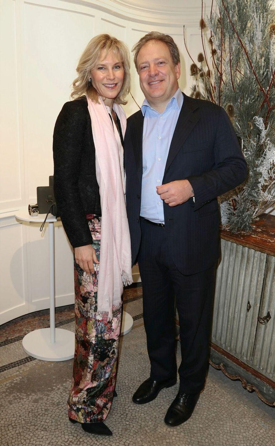 Grace et Maurizio Borletti.