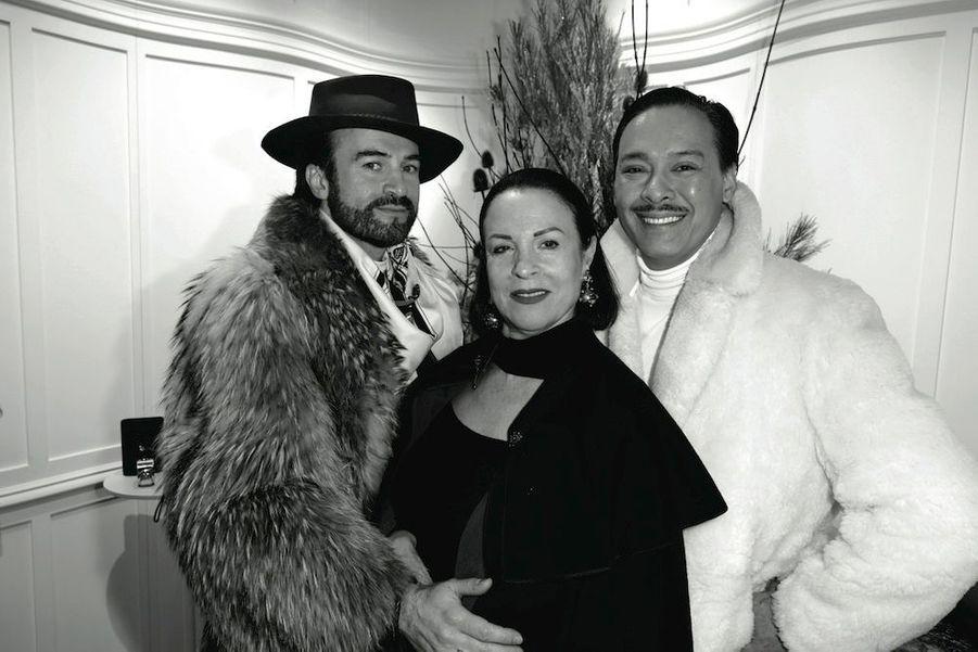 Jean-Pierre Calvagrac, Carmina Levrero, Michael Coorengel.