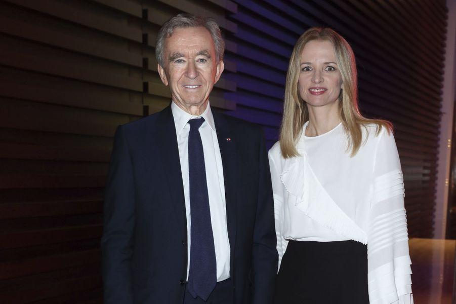 Bernard Arnault et sa fille, Delphine.