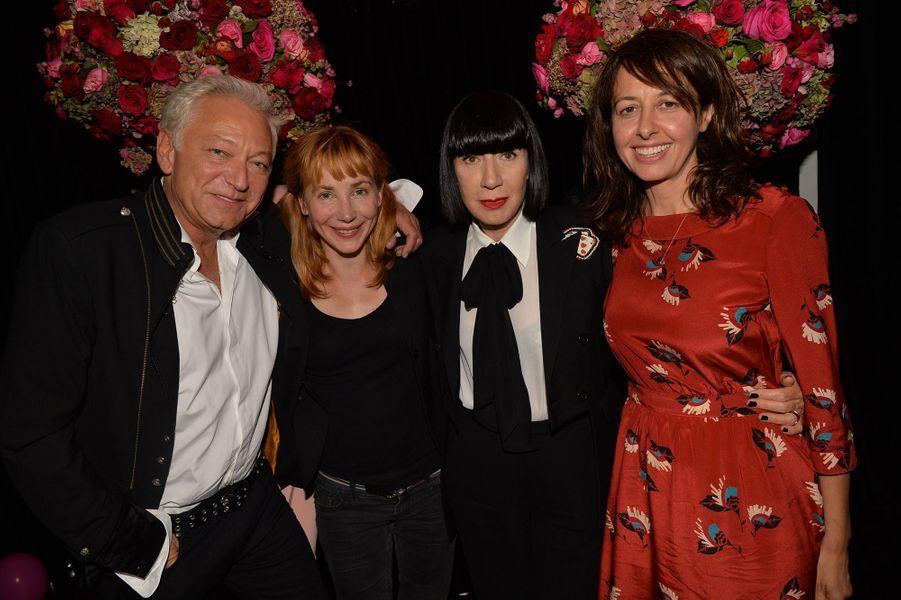 Laurent Boyer, Julie Depardieu,Chantal Thomass et Valérie Bonneton.