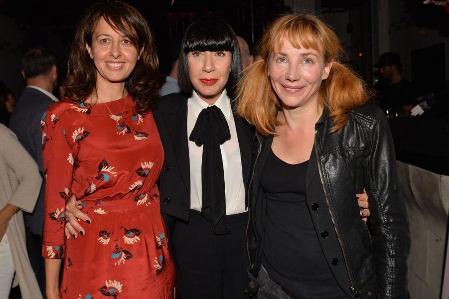 Valérie Bonneton,Chantal Thomass et Julie Depardieu.