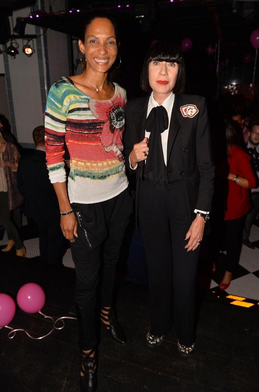 Collection Chantal Thomass - Damart : défilé de stars