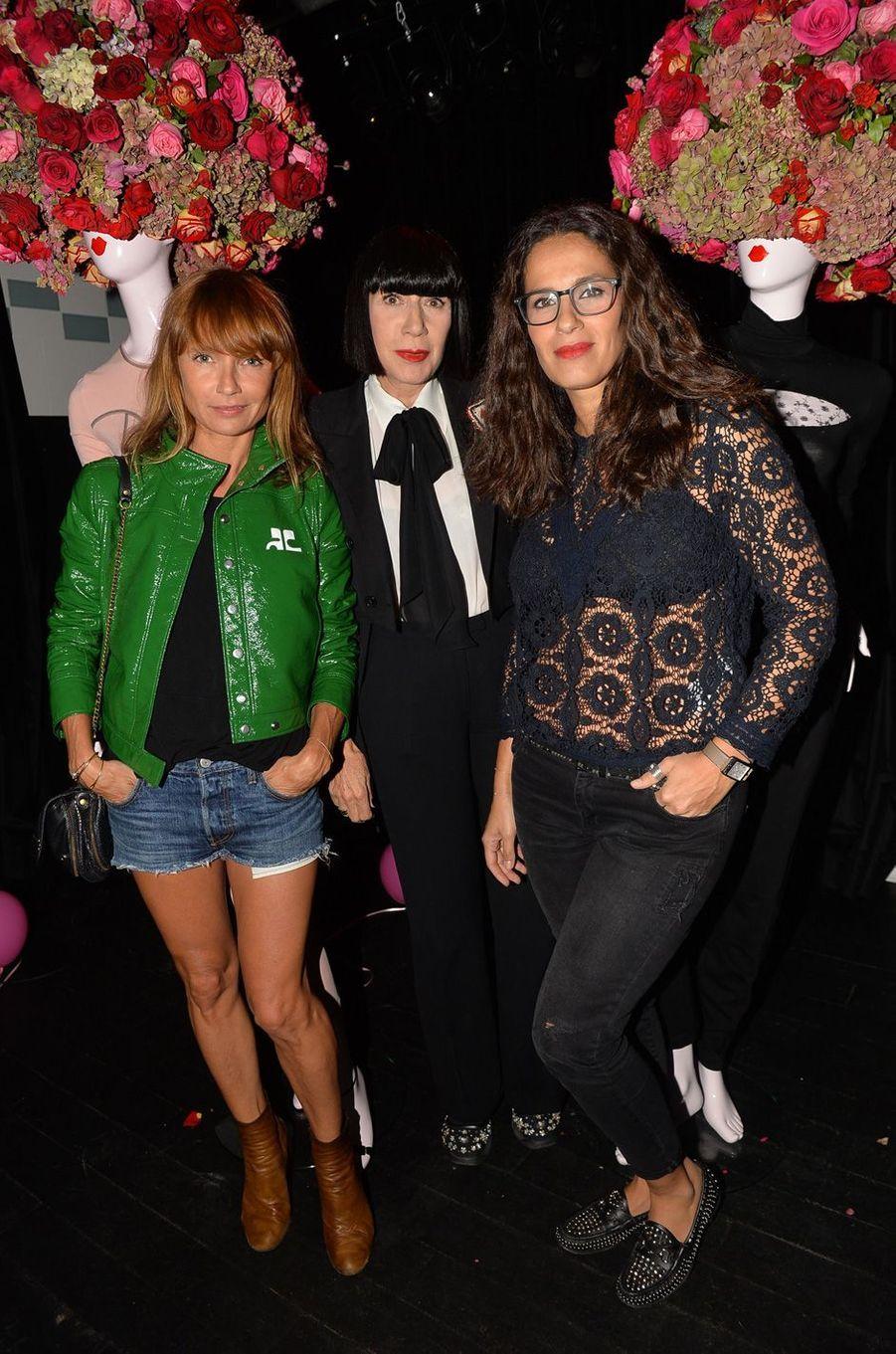 Axelle Lafont,Chantal Thomass et Elisa Tovati.