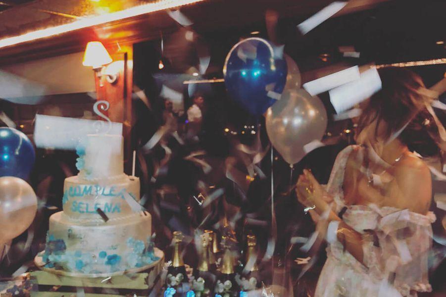 L'anniversaire de Selena Gomez