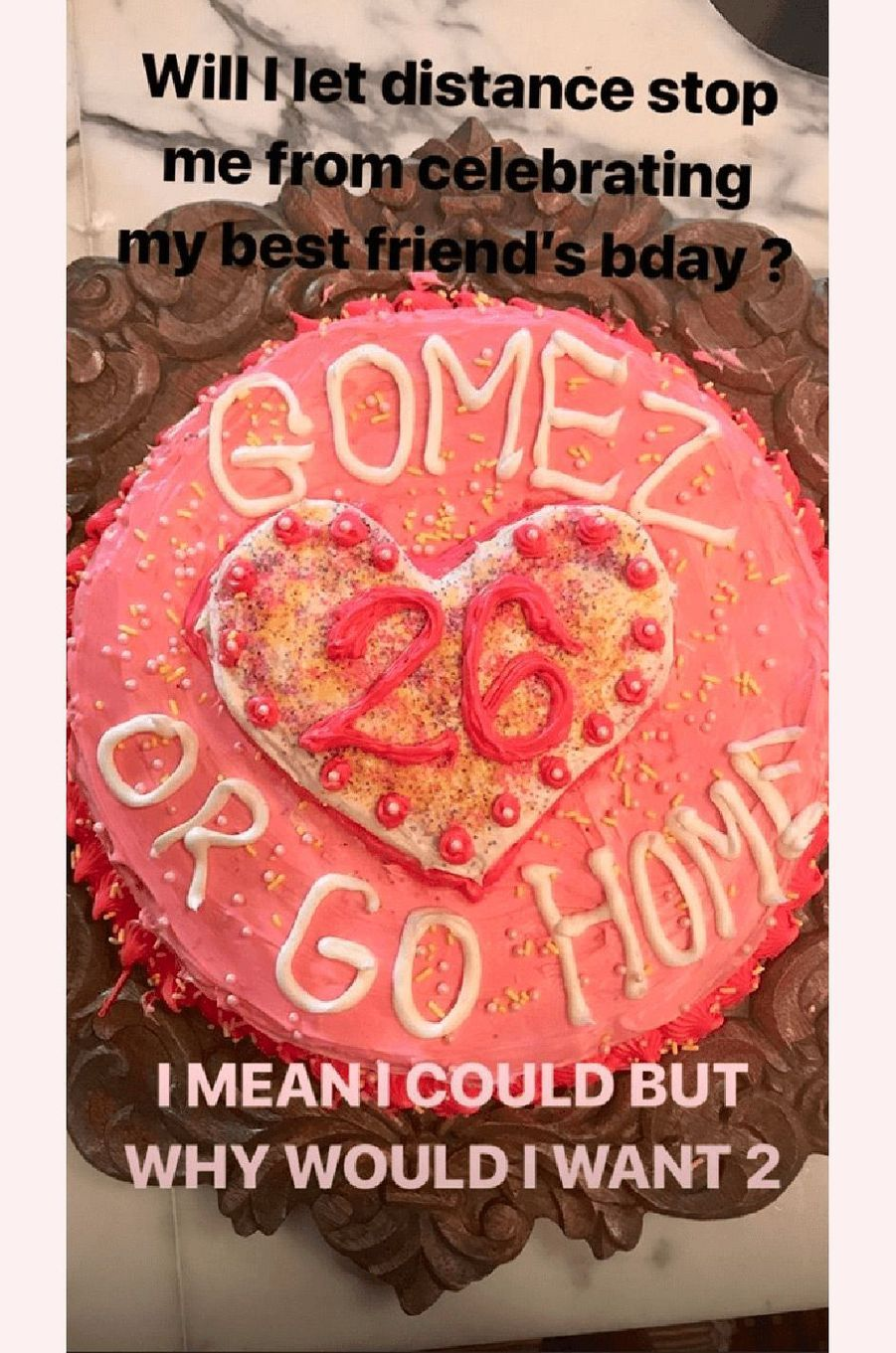 Taylor Swift fête l'anniversaire de Selena Gomez