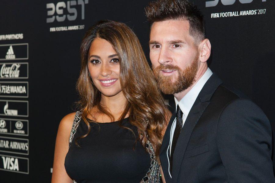 Antonella Roccuzzo, la compagne de Lionel Messi