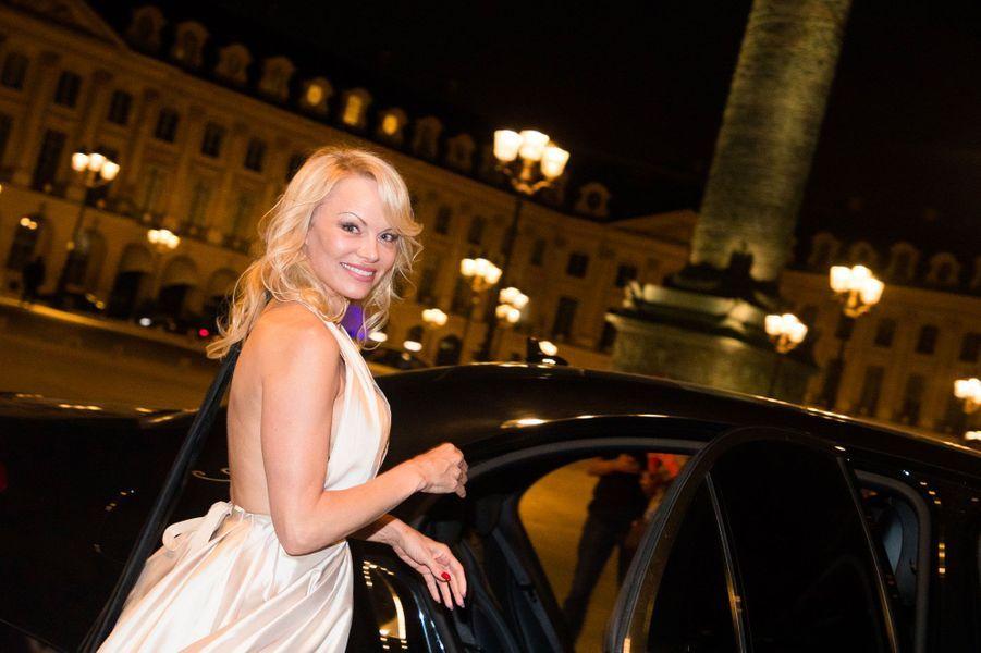 Pamela Anderson, la compagne d'Adil Rami