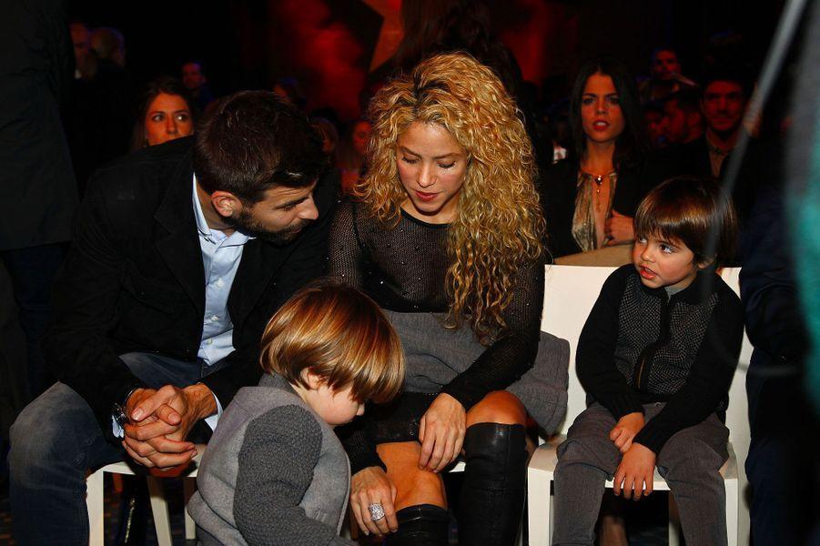 Shakira, la compagne de Gérard Piqué