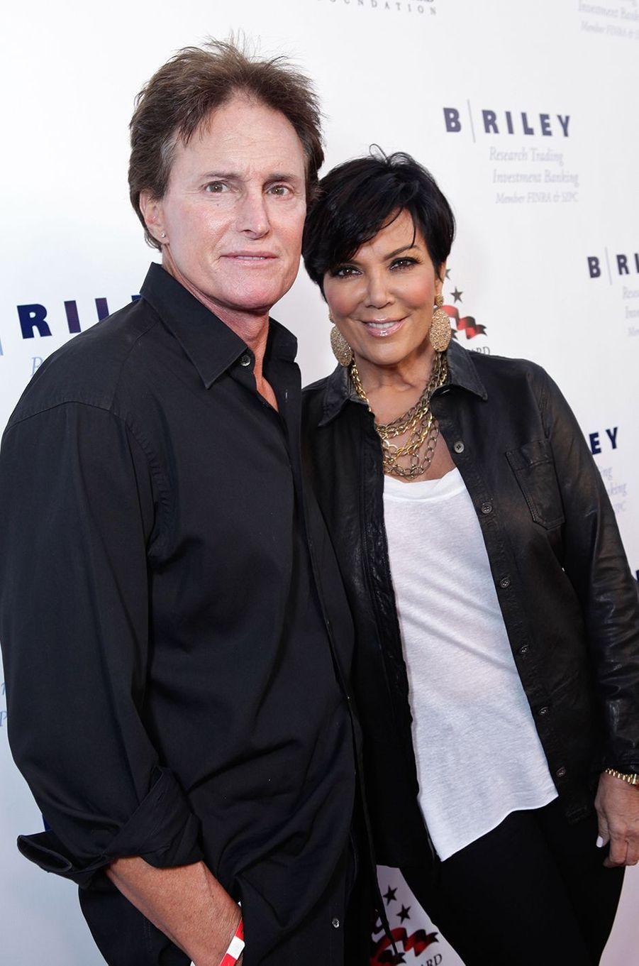 Bruce et Kris Jenner à un gala caritatif à Santa Monica en mai 2011