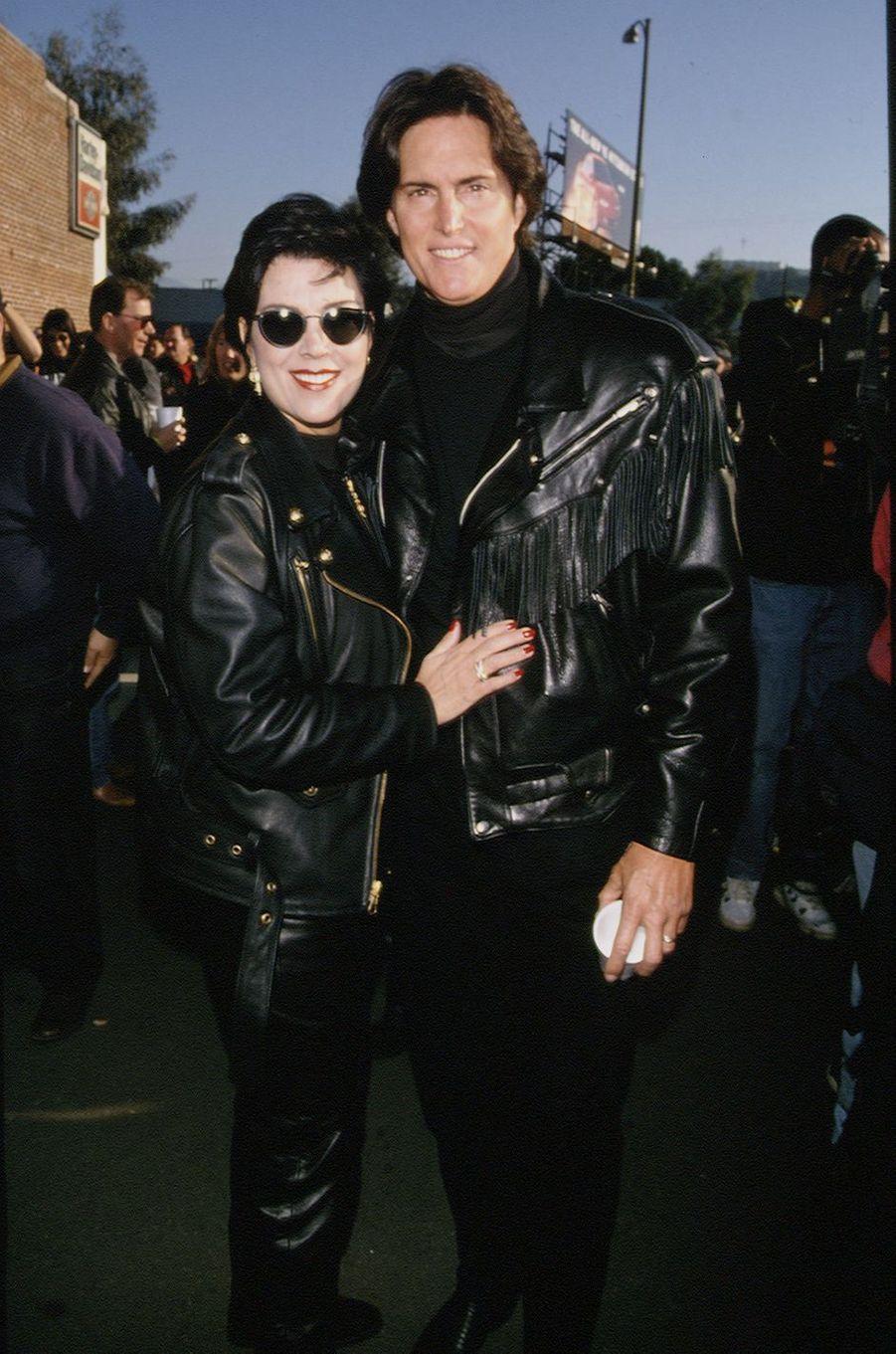Kris et Bruce Jenner à un événement à Los Angeles en novembre 1994