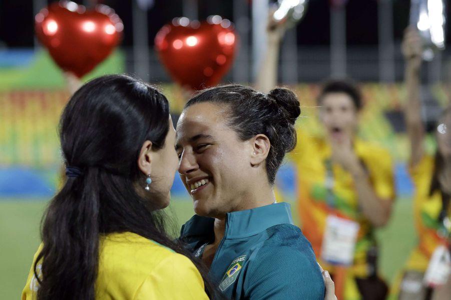 Marjorie Enya et Isadora Cerullo, les fiançailles pendant les JO de Rio.