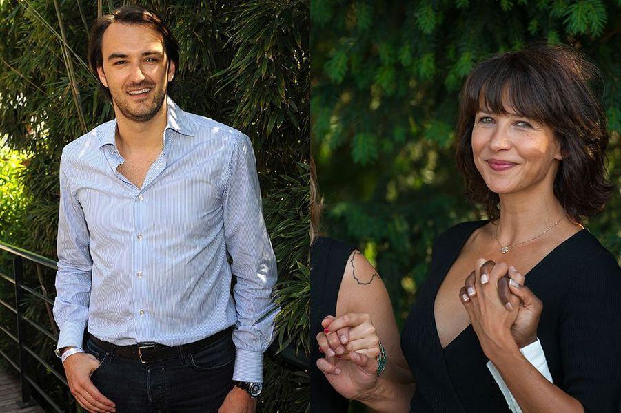 Sophie Marceau et Cyril Lignac, l'amour sous le soleil de Capri.