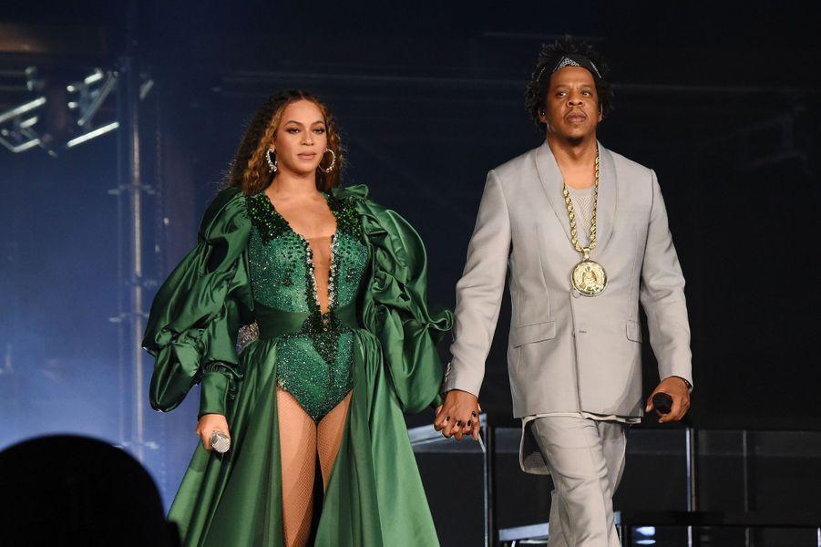 Beyoncé et Jay-Z en 2019