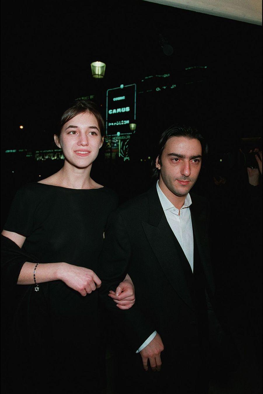 Charlotte Gainsbourg et Yvan Attal en 1995