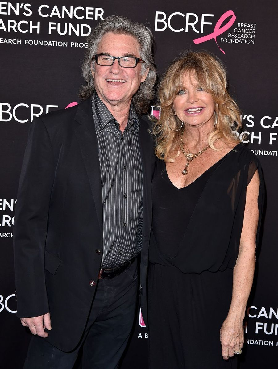 Goldie Hawn et Kurt Russell en 2019