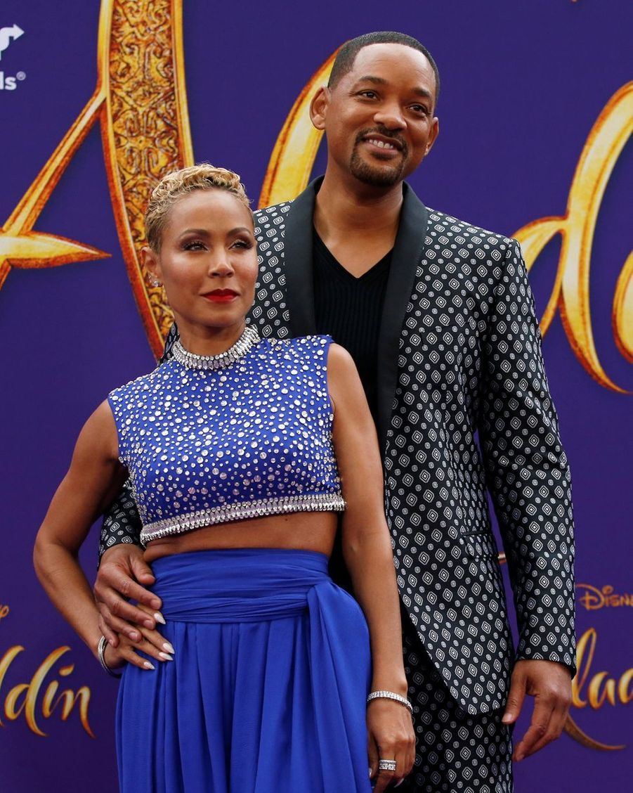 Jada Pinkett et Will Smith en 2019