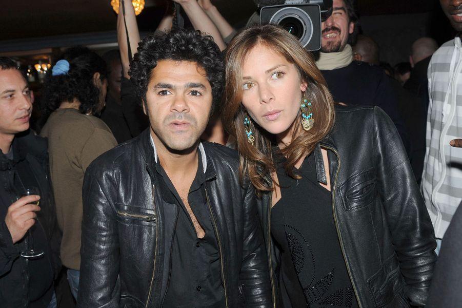 Jamel Debbouze et Mélissa Theuriau en 2008
