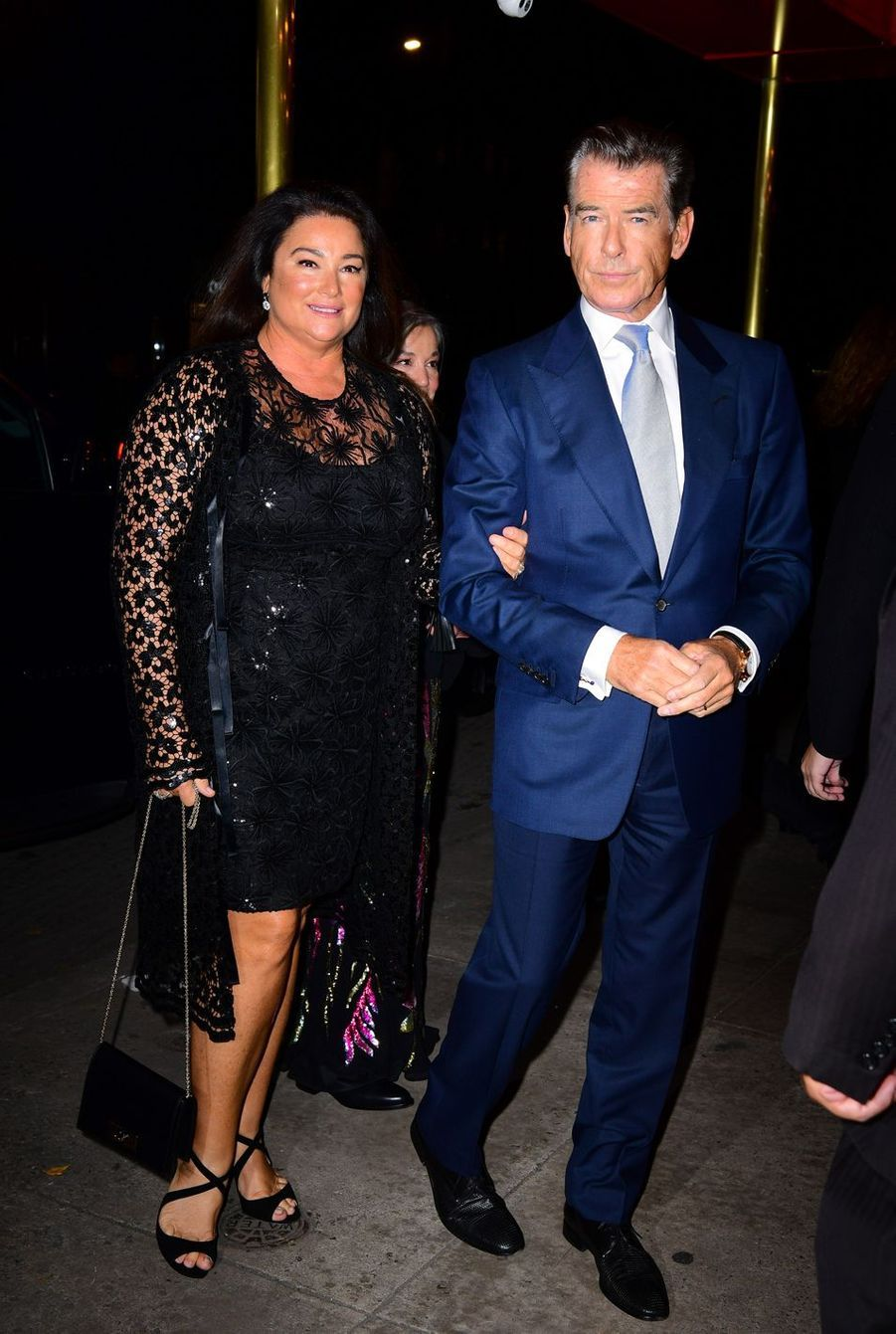 Keely Shaye Smith et Pierce Brosnan en 2018