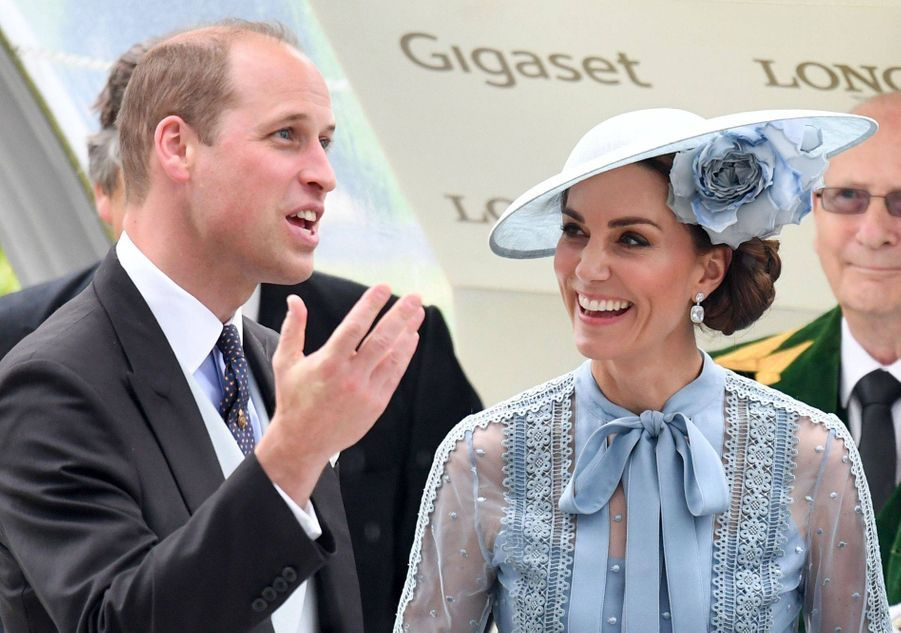 Le prince William et Kate Middleton en 2019