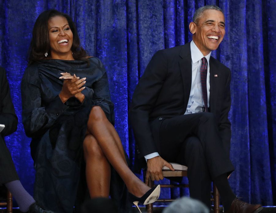 Michelle et Barack Obama en 2018