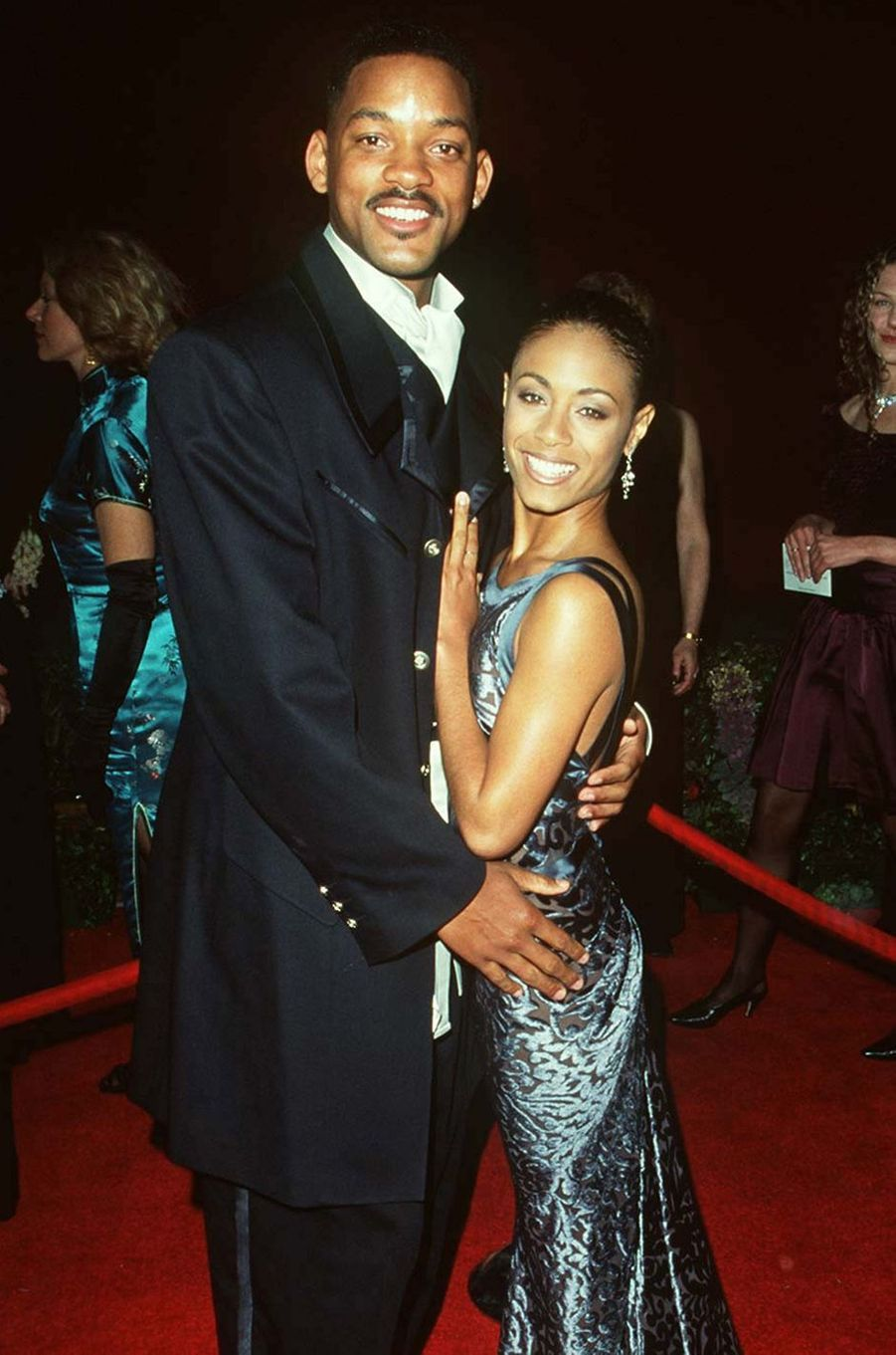 Will Smith et Jada Pinkett Smith - ici en mars 1996 aux Oscars à Los Angeles
