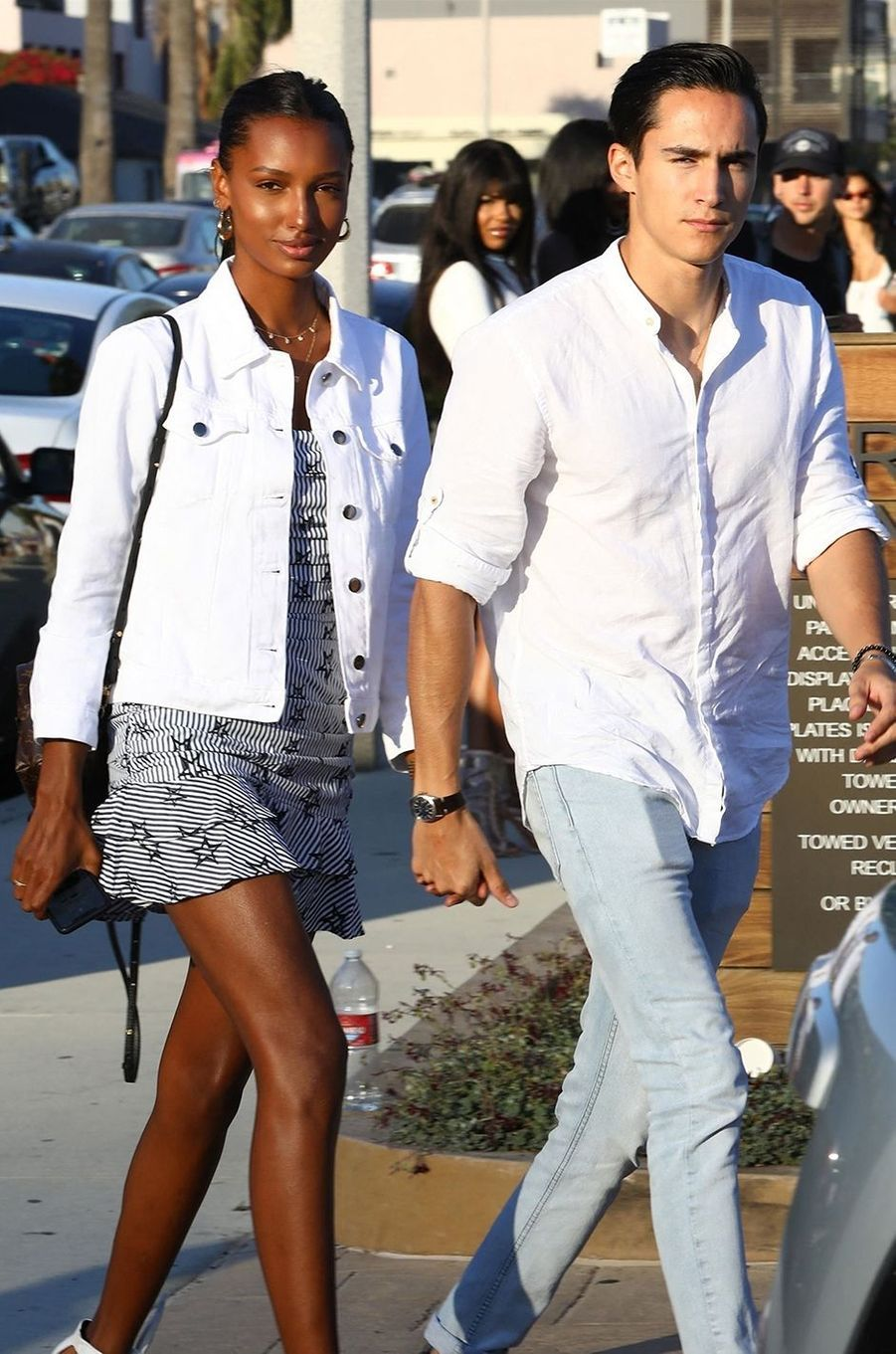 Jasmine Tookes et Juan David Borrero ont annoncé leurs fiançailles en septembre 2020 après quatre ans d'amour.