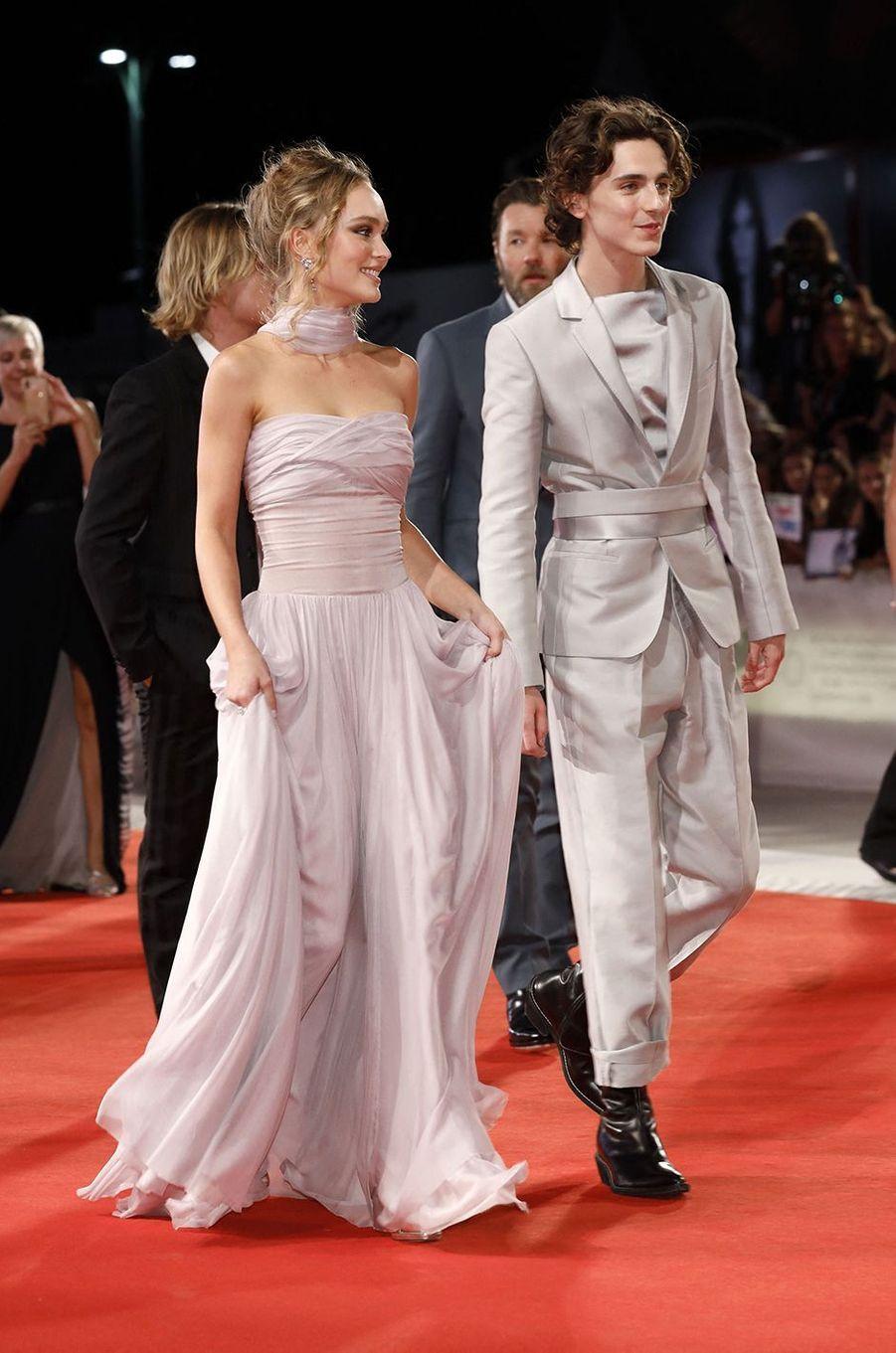 La rupture entre Lily-Rose Depp et Timothée Chalamet, rencontrés sur le tournage de «The King», a été mentionnée en avril 2020 dans un portrait consacré à l'acteur dans le magazine «Vogue UK».
