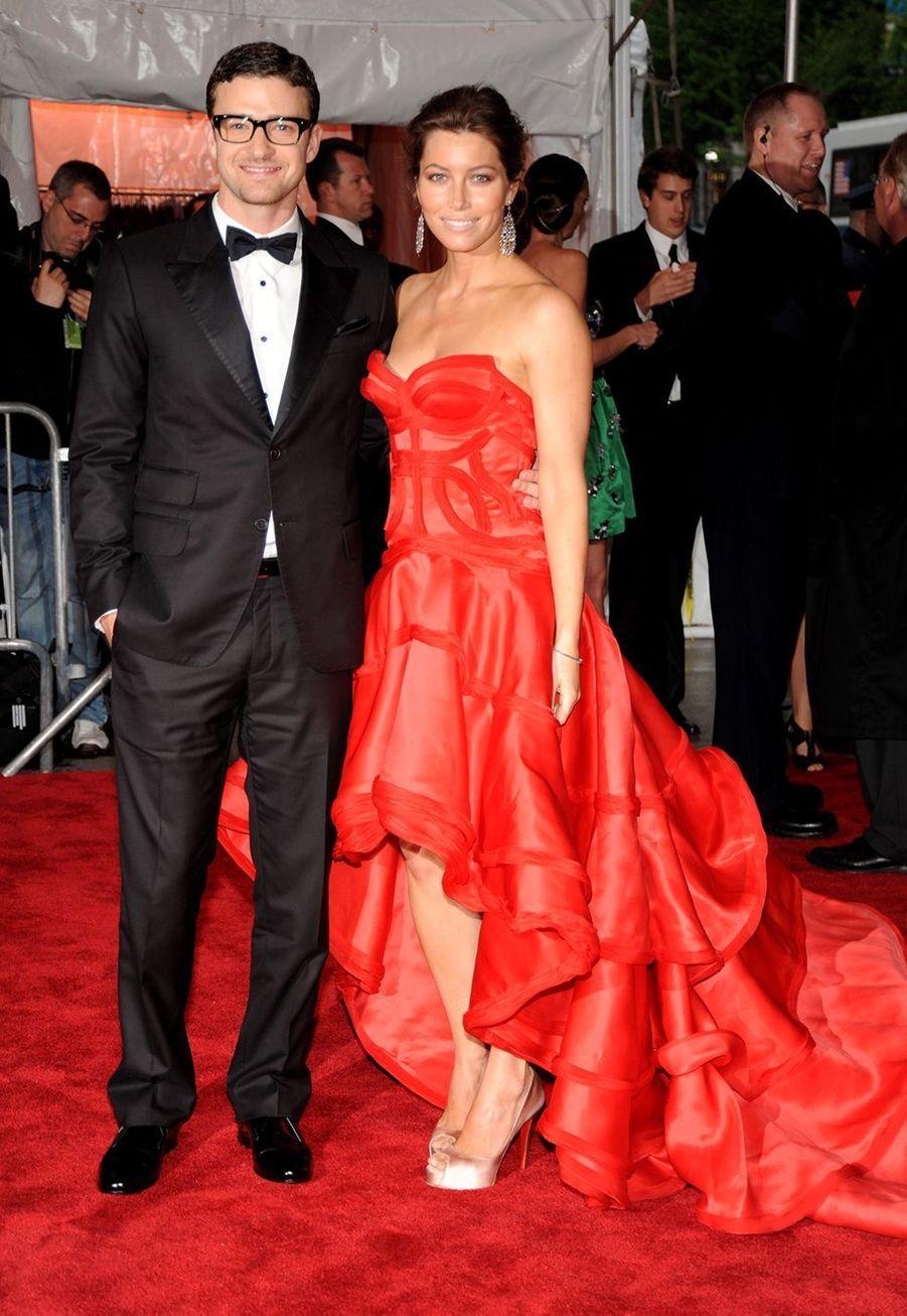 Justin Timberlake et Jessica Biel en mai 2009