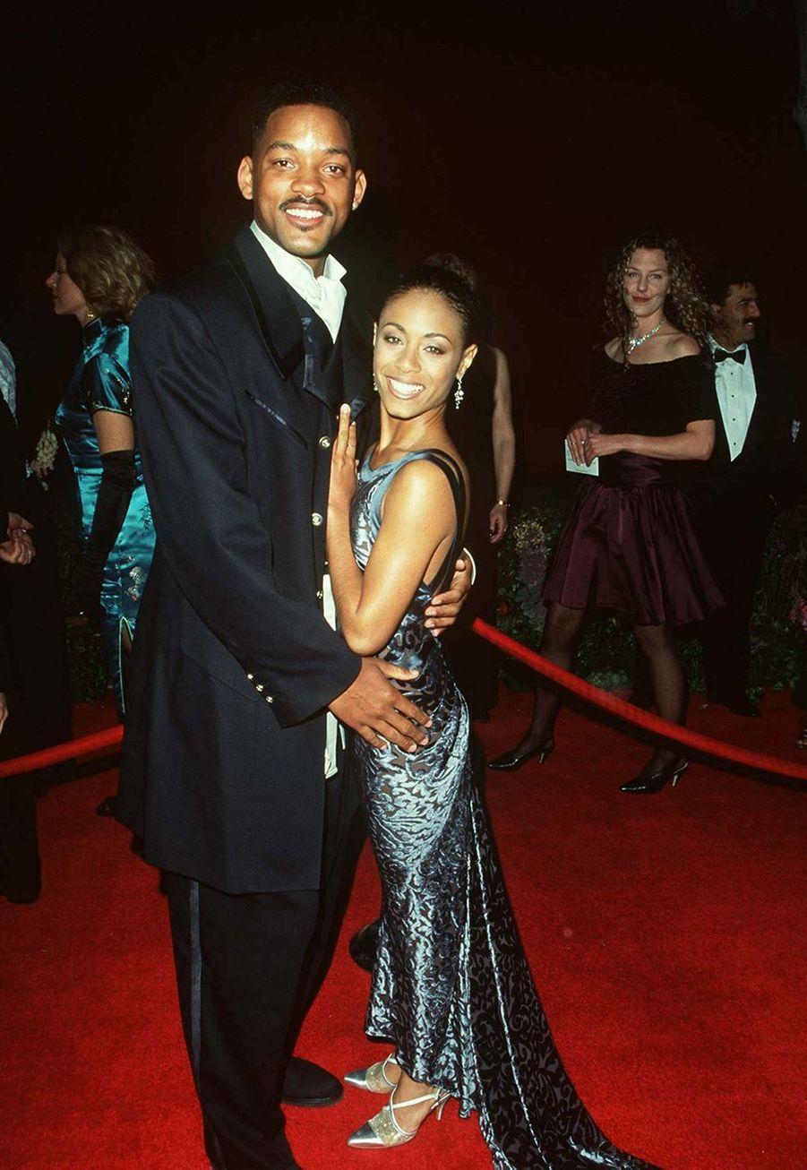 Will et Jada Smith en mars 1996