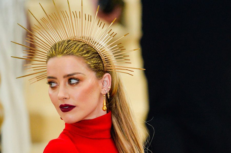 Amber Heard au Met Gala 2018